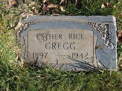 Esther <i>Rice</i> Gregg
