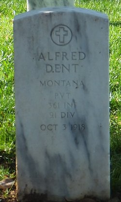 Pvt Alfred Dent