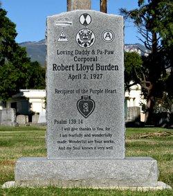 Corp Robert Lloyd Burden