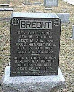 Rev George H Brecht