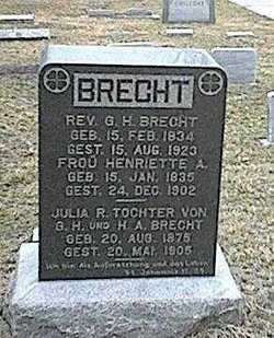Henrietta Ann <i>Hagist</i> Brecht