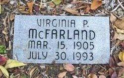 Virginia <i>Phillips</i> McFarland