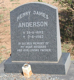 Dr Henry James Harry Anderson