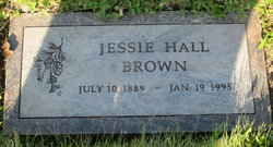 Jessie <i>Hall</i> Brown