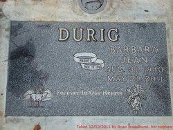 Barbara Jean <i>Fleming</i> Durig