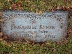 Emmanuel Manny Scher