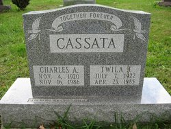 Twila Jane <i>Tedrow</i> Cassata