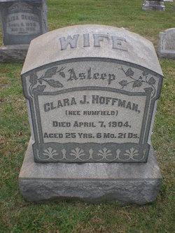 Clara J. <i>Rumfield</i> Hoffman