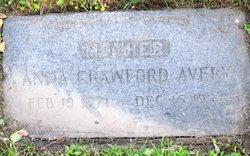 Anna Crawford Avery