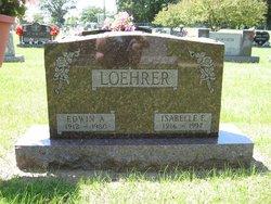 Isabelle Ernestine <i>Wickman</i> Loehrer