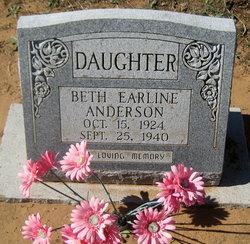Beth Earline Anderson