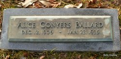 Alice Conyers Ballard