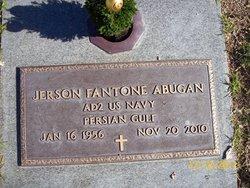 Jerson Fantone Abugan