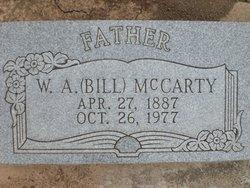 William Aaron Bill McCarty
