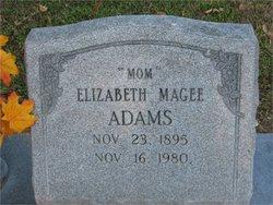Elizabeth <i>McGee</i> Adams