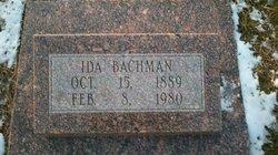 Ida <i>Sutter</i> Bachman