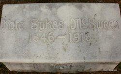 Kate <i>Sykes</i> McSween