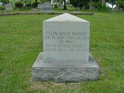 Annie Ruth <i>Hayes</i> Baxley