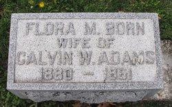 Flora M <i>Born</i> Adams