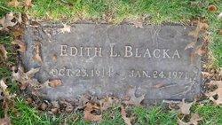 Edith <i>George</i> Blacka