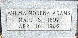Wilma Modena <i>Pettibone</i> Adams