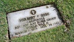 Herbert F Siebe