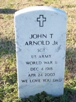 John T Arnold, JR