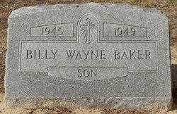 Billy Wayne Baker