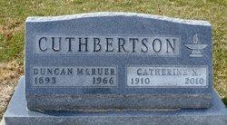 Julia Catherine <i>Nevins</i> Cuthbertson