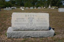 Beulah Beatrice <i>Hollis</i> Brown