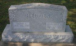 Margaret O <i>Baxter</i> Hedden