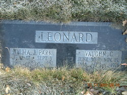 Hilma June Bob <i>Park</i> Leonard