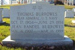 Adm Thomas Burrowes