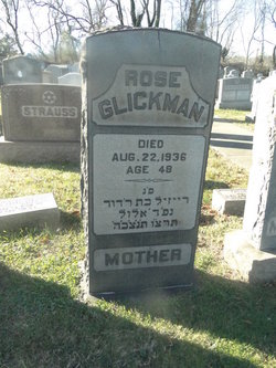 Rose <i>Levin</i> Glickman