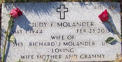 Judy Faye <i>Zellers</i> Molander