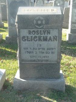 Roslyn <i>Levin</i> Glickman