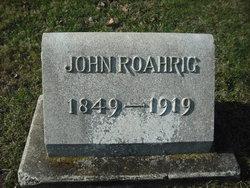 John Roahrig