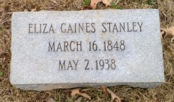 Eliza <i>Gaines</i> Stanley
