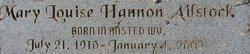 Mary Louise <i>Hannon</i> Ailstock