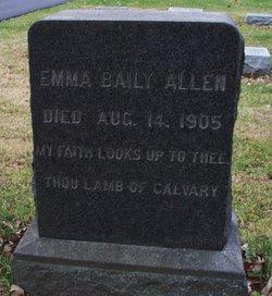 Emma <i>Bailey</i> Allen