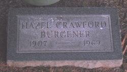 Hazel <i>Crawford</i> Burgener