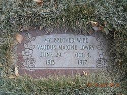Vaudus Maxine <i>Park</i> Lowry