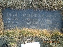 Hazel <i>Park</i> Lang Ray