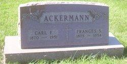 Frances S <i>Warnke</i> Ackermann