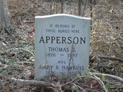 Mary B. <i>Hawkins</i> Apperson