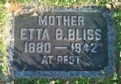 Etta Belle <i>Tuggle</i> Bliss