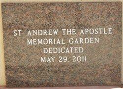 Saint Andrew the Apostle Memorial Garden