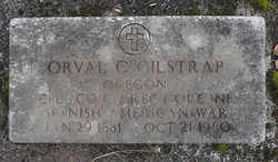 Sgt Orval Clyde Gilstrap