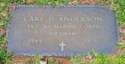 PFC Carl D Anderson