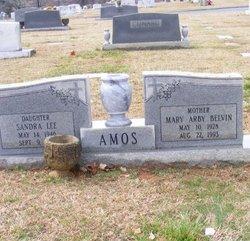 Mary Arby <i>Belvin</i> Amos